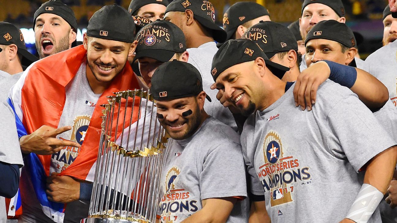 Judge: Astros 'cheated' and 'didn't earn' 2017 title