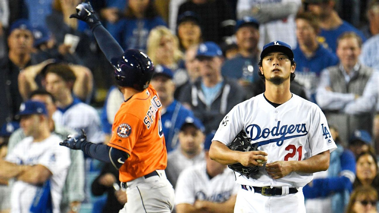 Darvish now asks: Were Astros stealing off me?