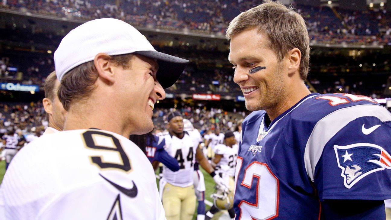 Sources – Tom Brady was New Orleans Saints' backup plan if Drew Brees had retired this past offseason – ESPN