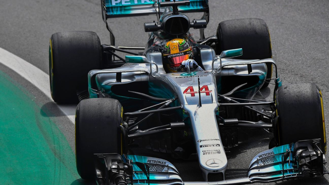 Why Lewis Hamilton won't be running the champion's No 1 in