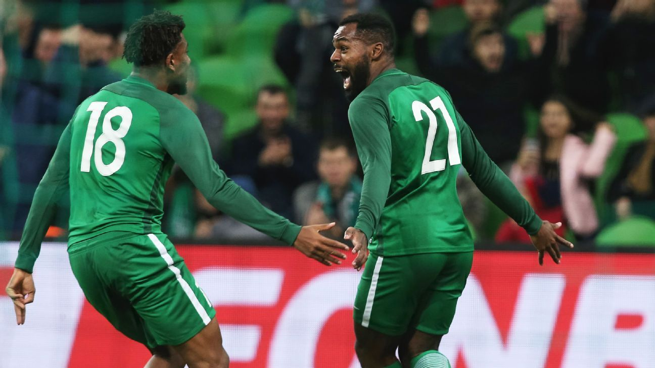0682d81b4 Nike reveal dazzling new Nigeria kits for World Cup campaign