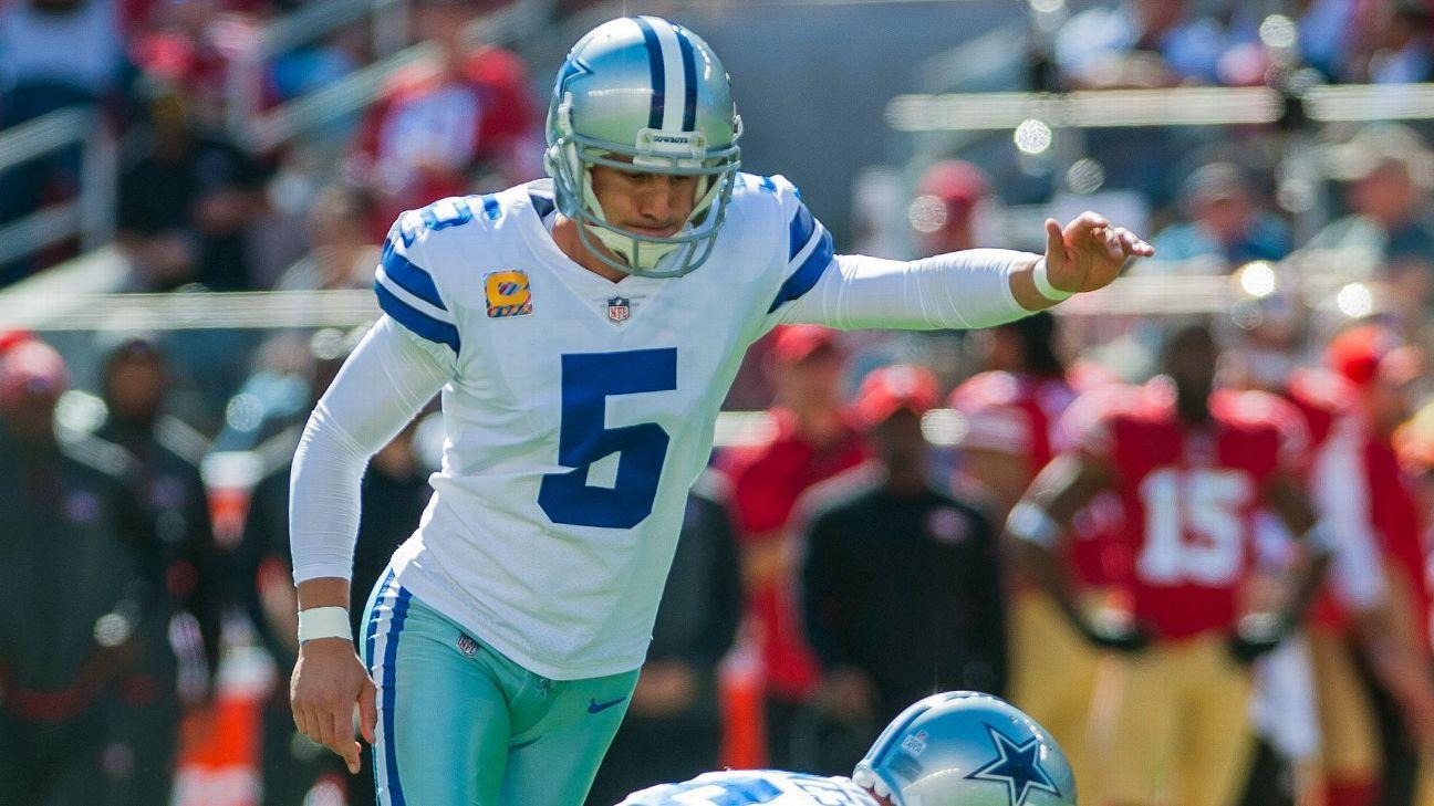 wholesale dealer 66bcf 314ab Dallas Cowboys release kicker Dan Bailey, go with Brett Maher