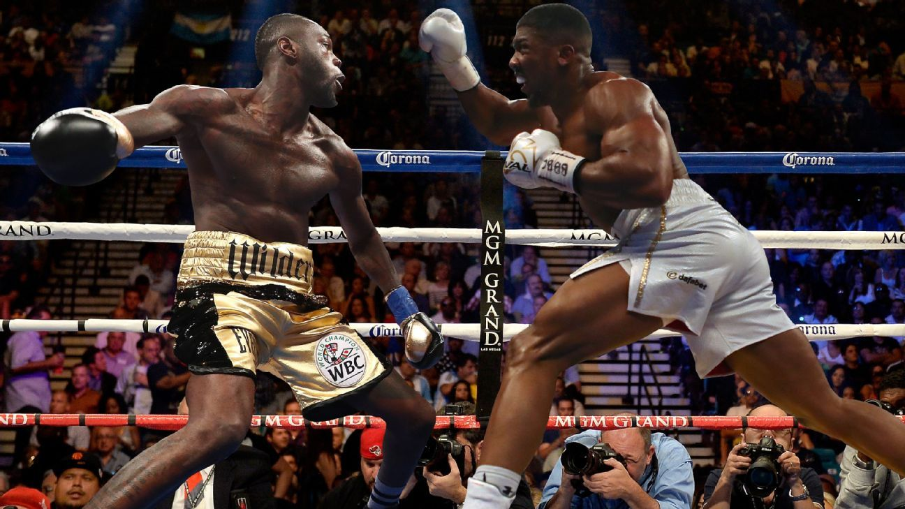 Boxing The Games Going On Between Anthony Joshua And Deontay Wilders Camps Mean That Fight Wont Be Next
