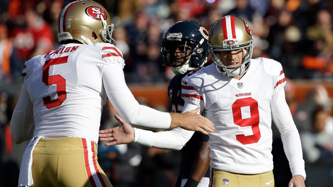 Two days after kicker Robbie Gould and his agent told ESPN that Gould would like the San Francisco 49ers to trade him back closer to his Chicago home, Niners coach Kyle Shanahan made it clear that Gould's request isn't likely to be granted.