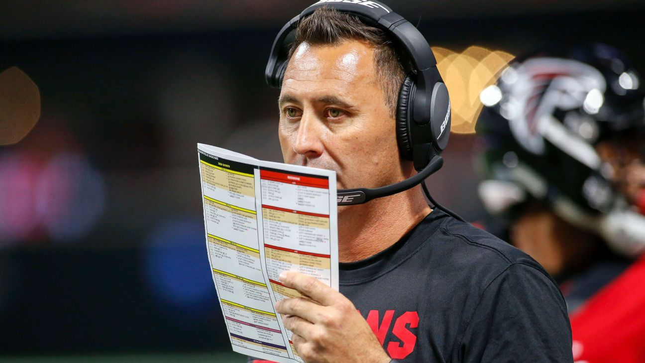 The Arizona Cardinals offered Steve Sarkisian their offensive coordinator position, but he will instead rejoin Alabama's coaching staff, sources told ESPN's Dianna Russini.