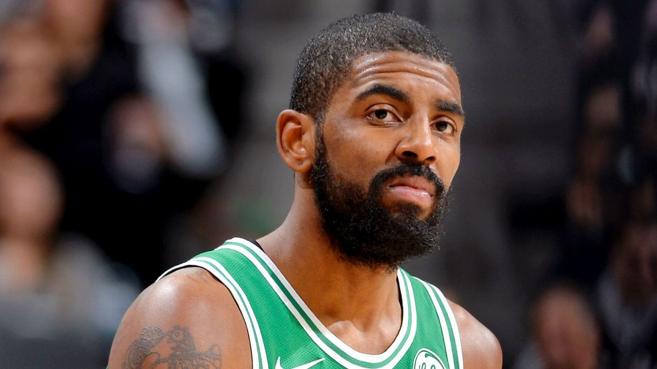 Kyrie Irving of Boston Celtics apologizes for saying Earth is flat 960f74967