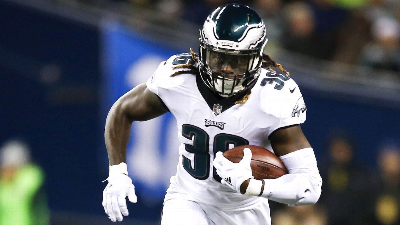 competitive price 56b00 a5809 Eagles give RB Jay Ajayi top billing entering camp ...