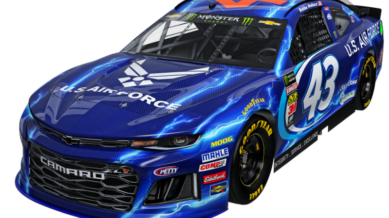 Richard Petty Motorsports >> Air Force continues partnership with Richard Petty Motorsports for 2018
