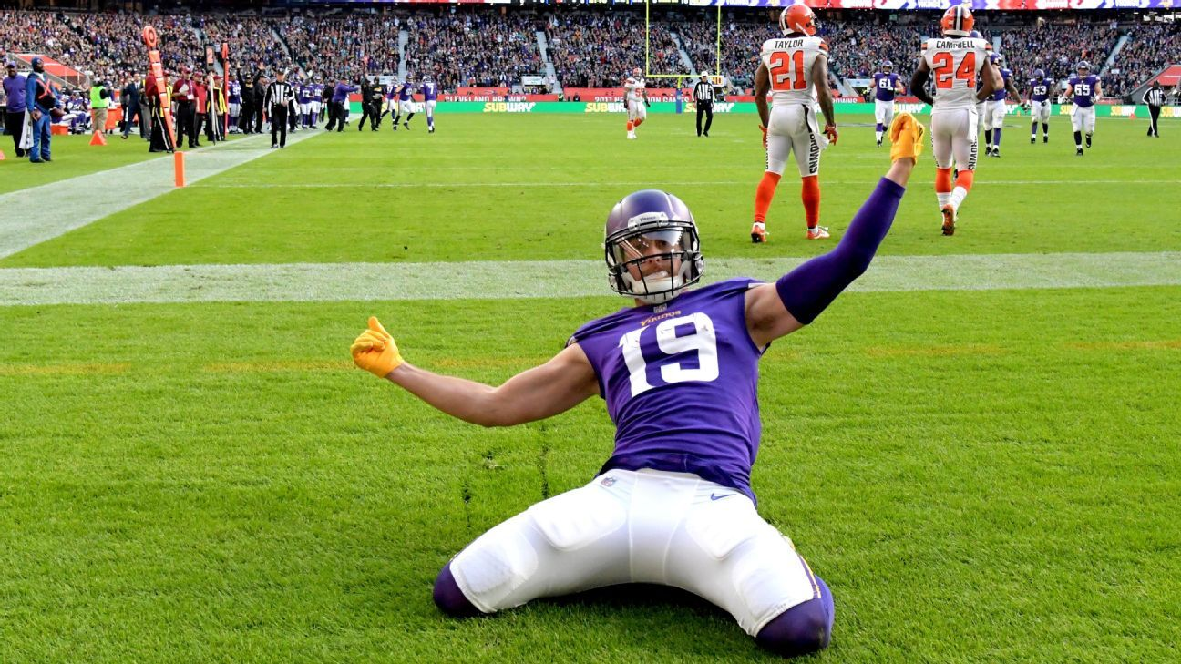 Adam Thielen has agreed to a four-year, $64 million contract extension with the Vikings that could rise to $73 million with incentives, Thielen's agent said.
