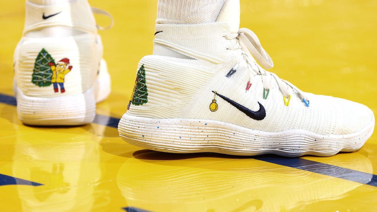 b52e834a33999 NBA -- Which player had the best sneakers on Christmas Day