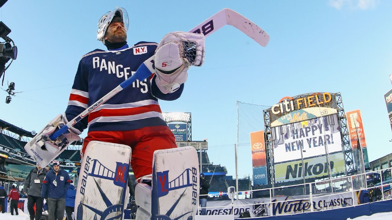 Nhl How Henrik Lundqvist Became The King Of Outdoor Hockey Games