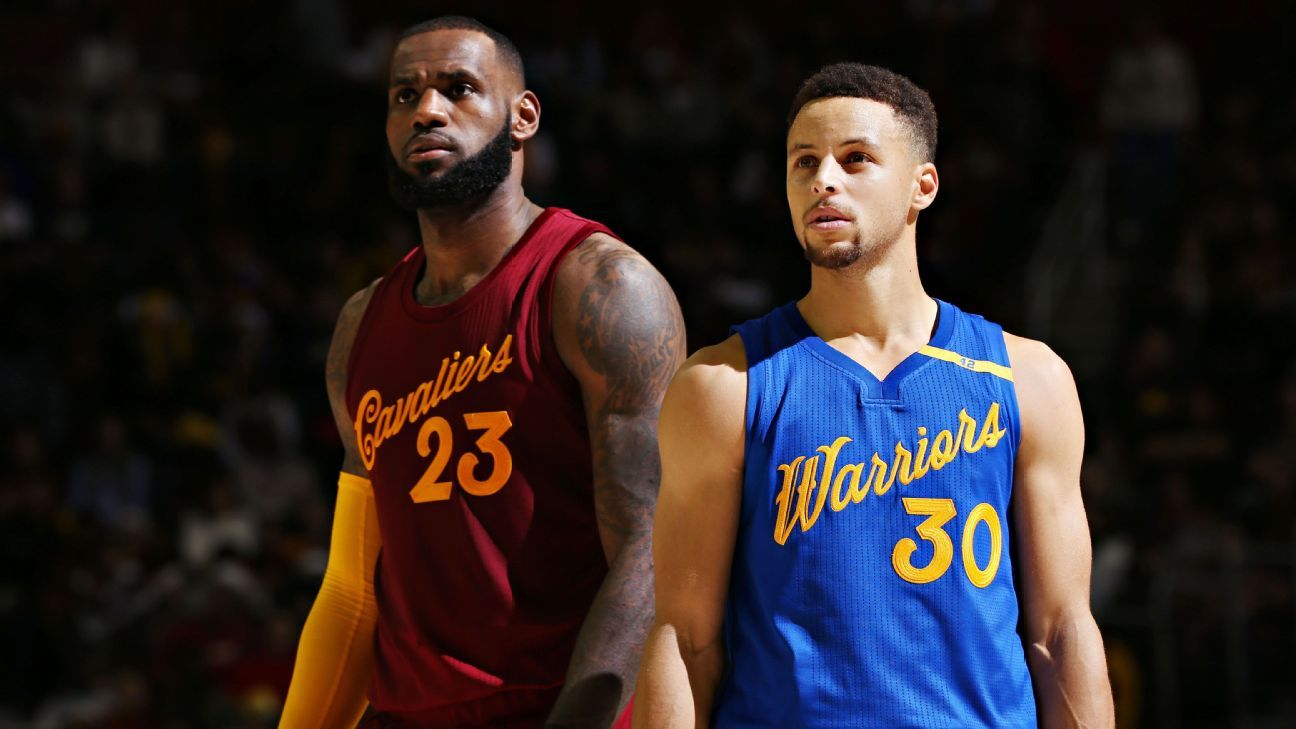 25213764f NBA Finals players Cleveland Cavaliers Golden State Warriors rated as  prospects