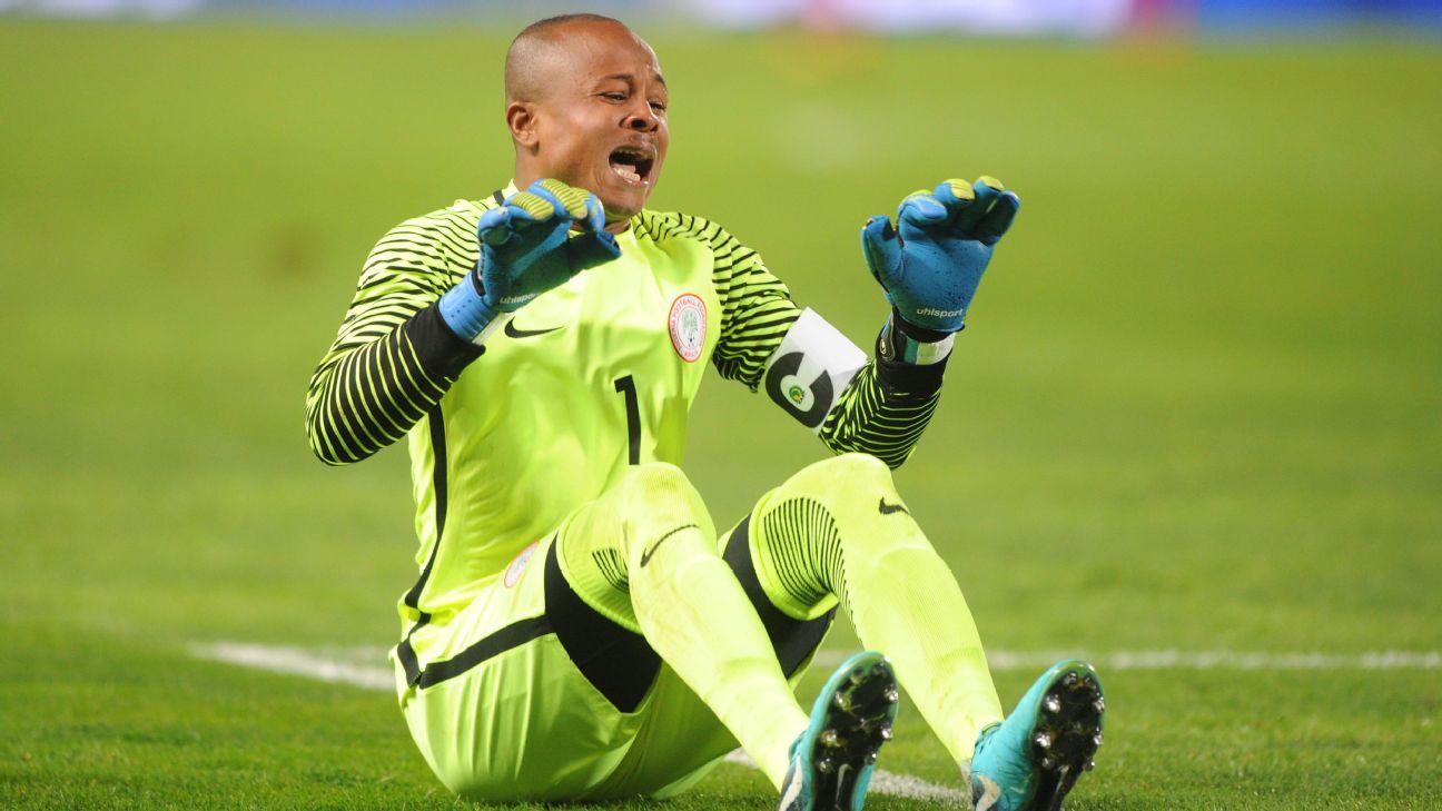 Rohr: Ezenwa isn't Nigeria's World Cup No. 1 just yet