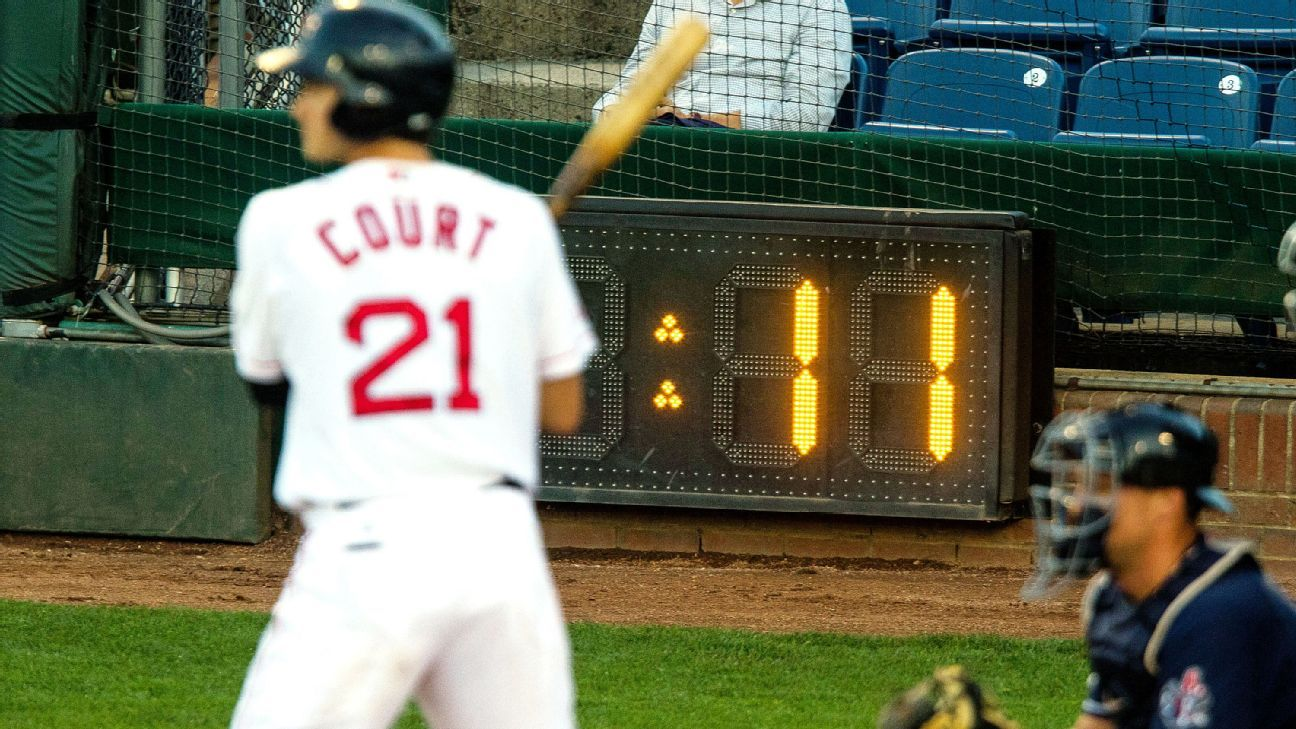 Sources: MLB prepared to ditch clock until 2022