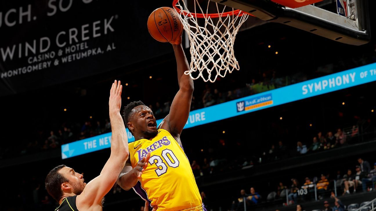 Los Angeles Lakers renounce Julius Randle and agree to terms with Rajon  Rondo f76399e33