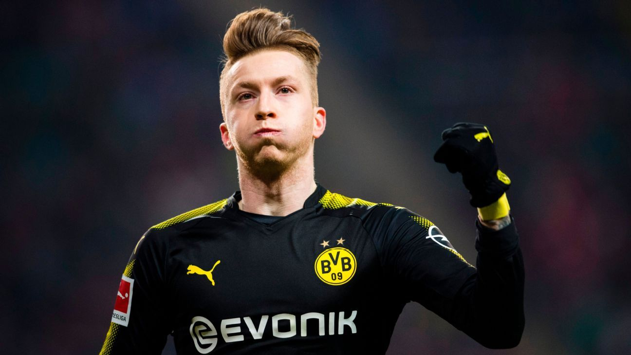 new concept c4717 c6727 Borussia Dortmund's Marco Reus unveils ultra-thin new 2018 ...