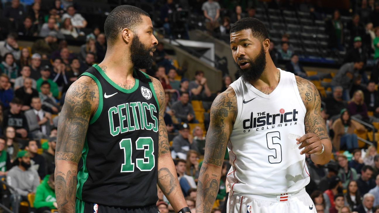 Marcus Morris Anxious About Possibly Facing Twin Markieff In 1st Round Of Playoffs