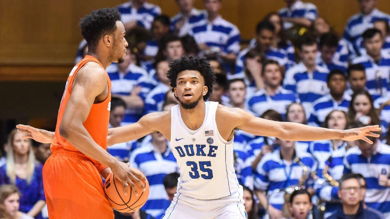 NCAA Tournament Duke Blue Devils Mimic Syracuse Orange 2-3