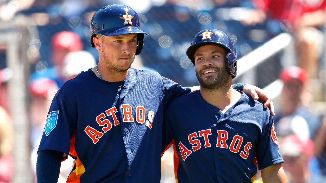 Altuve, Bregman among 5 Astros out for protocol