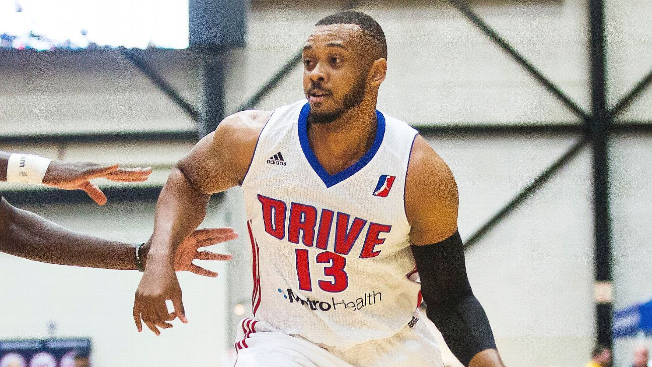 first rate f7130 7da52 Zeke Upshaw of Grand Rapids Drive dies after collapsing ...
