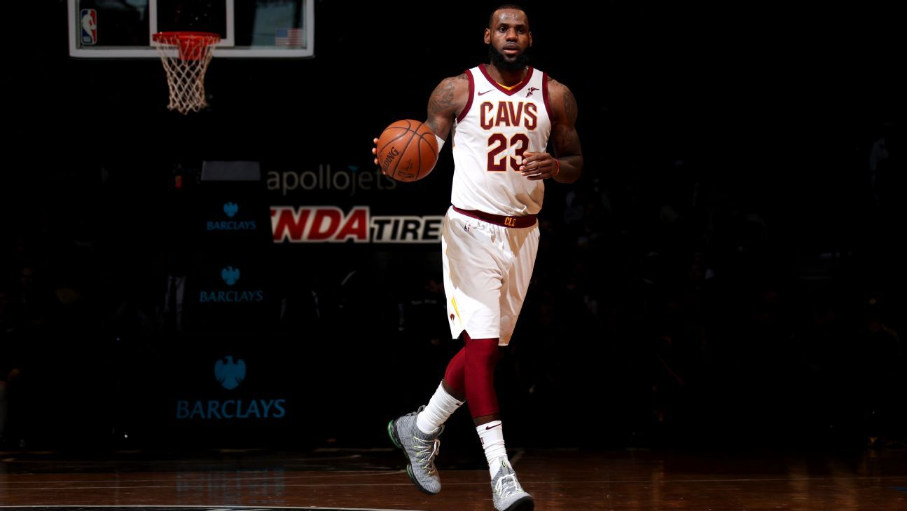 3b9c7937fe50 The stats you need to know about LeBron James s record-breaking scoring  streak