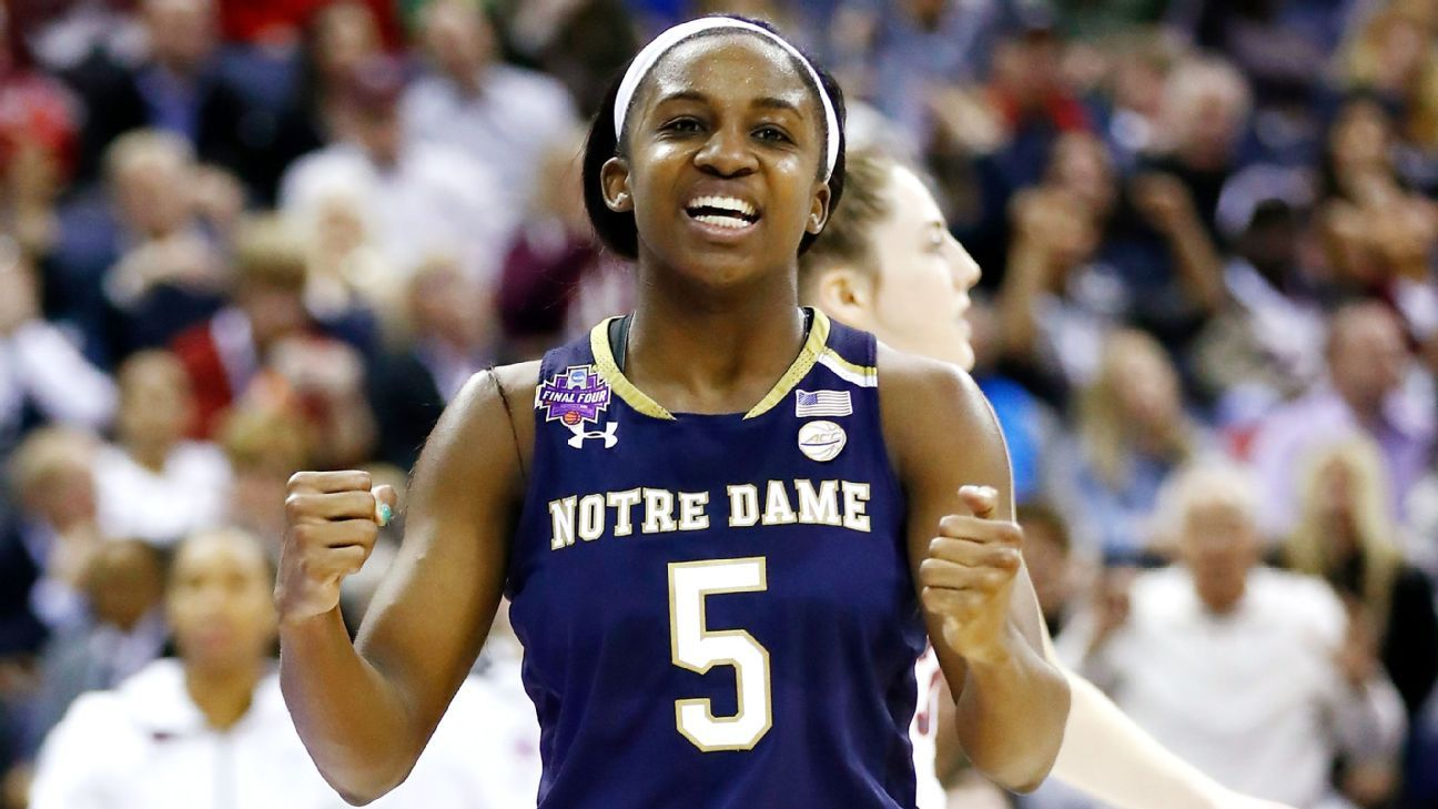 Women's Final Four -- Jackie Young puts herself in Notre ...