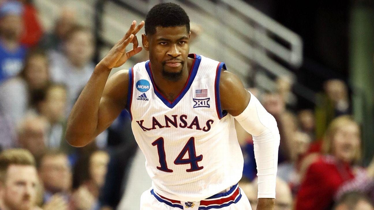 4d62289a0 Malik Newman of Kansas says he ll declare for 2018 NBA draft