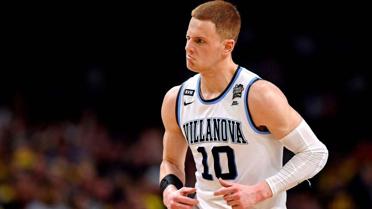 Villanova's Donte DiVincenzo wins most outstanding player of Final Four