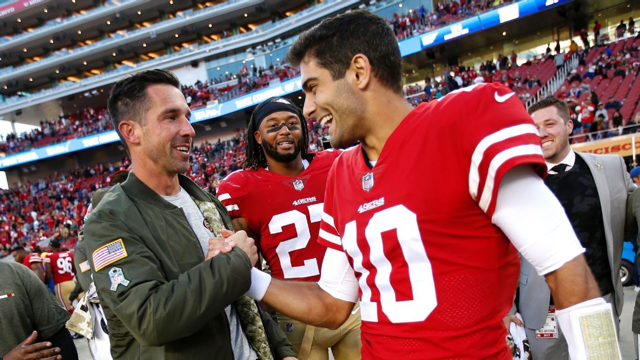 1f86c85578c How Jimmy Garoppolo changed the 49ers' plans to pursue Kirk Cousins - NFC  West- ESPN