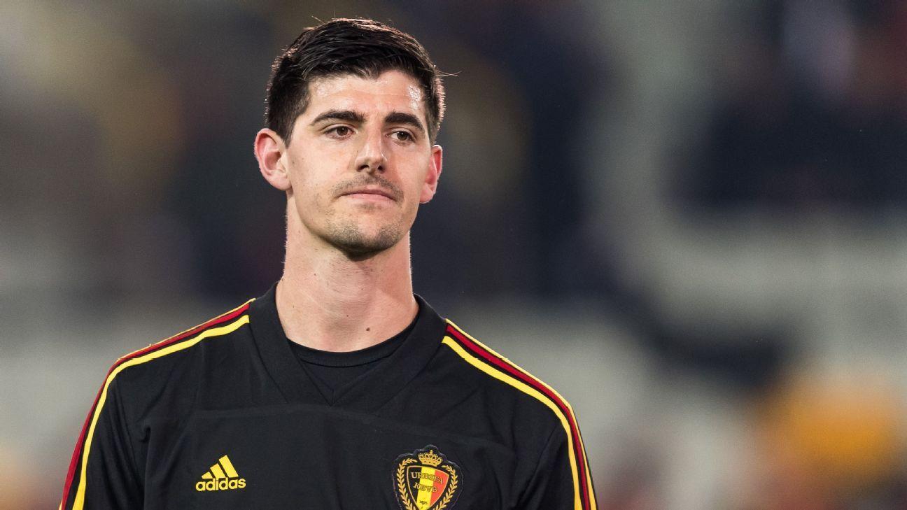 Thibaut Courtois to challenge ex-Belgium coach Marc Wilmots' leak claims in  court