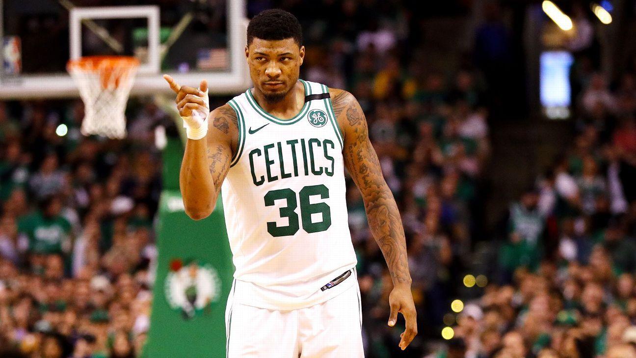 sale retailer f3dcc 92648 Boston Celtics guard Marcus Smart is putting his unique ...