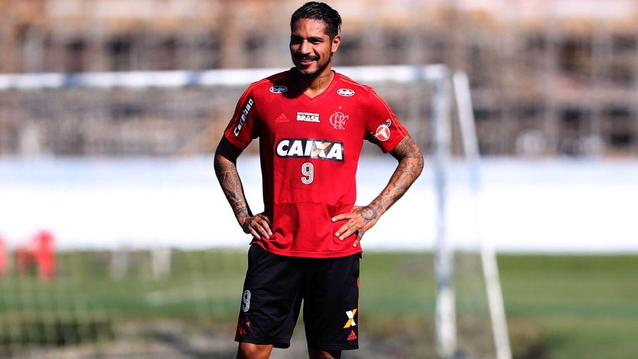 e7c0ac6d9c Guerrero volta a ser relacionado no Flamengo e pode reestrear contra o Inter
