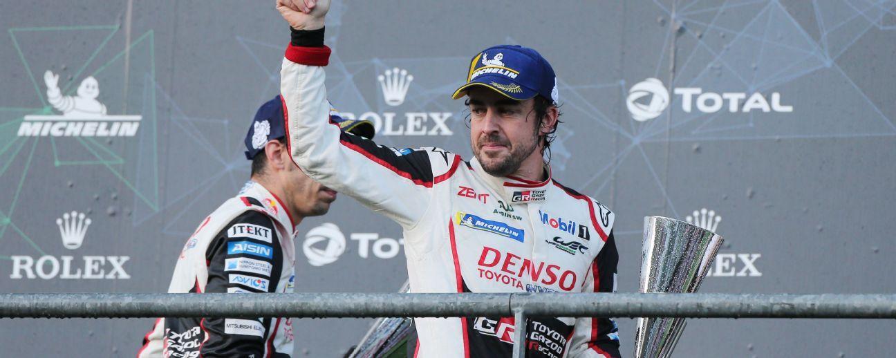 Fernando Alonso wins on his World Endurance Championship debut