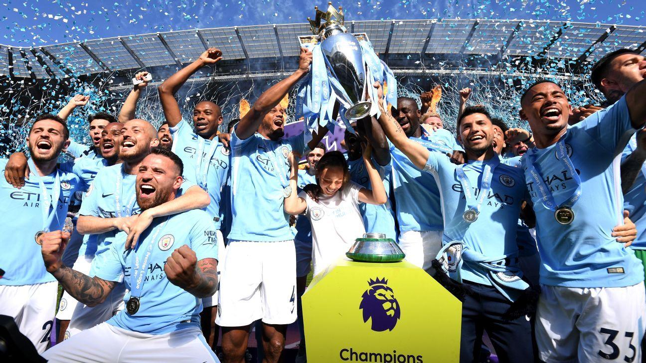 Manchester City Smash 11 Premier League Records In Title