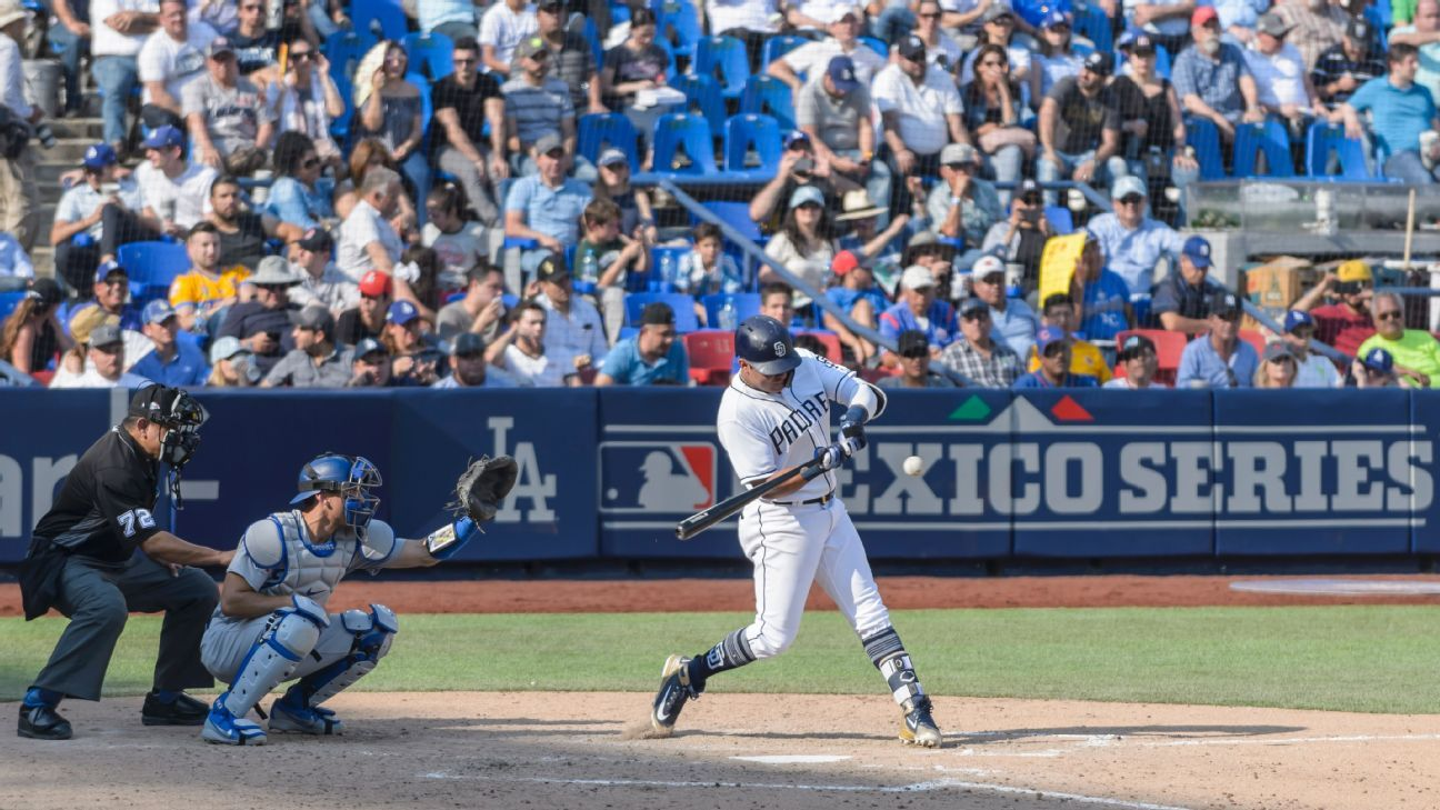 Dodgers and Padres find Monterrey and Mexico Series to their liking -  OneNacion Blog- ESPN 9562e3db2