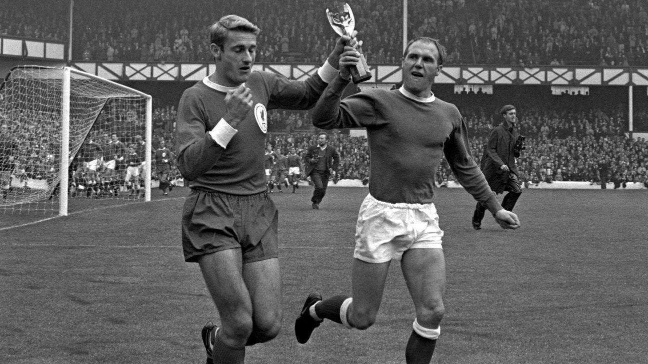 Roger Hunt, Campeón del Mundo con Inglaterra en 1966, fallece a los 83 años