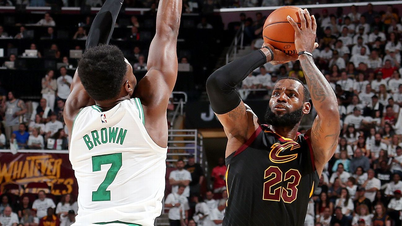 6e5d1d7ef LeBron James shuts down Boston Celtics  Finals plans with another legendary  performance