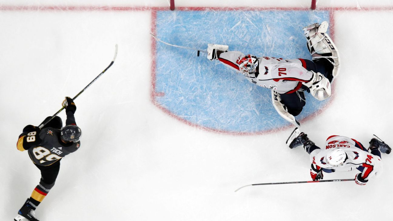 bc99eaefb06 Washington Capitals goalie Braden Holtby s epic save in Game 2 leaves  teammates speechless
