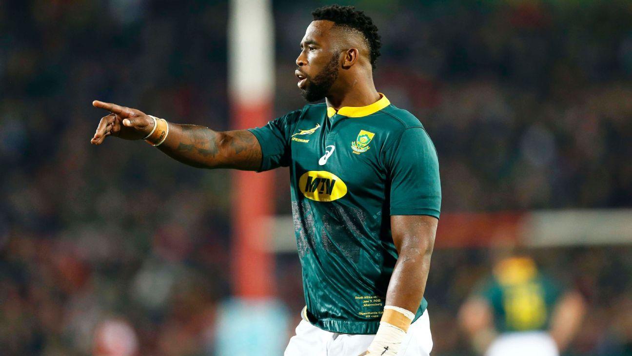 Siya Kolisi returns to Springboks squad for Argentina