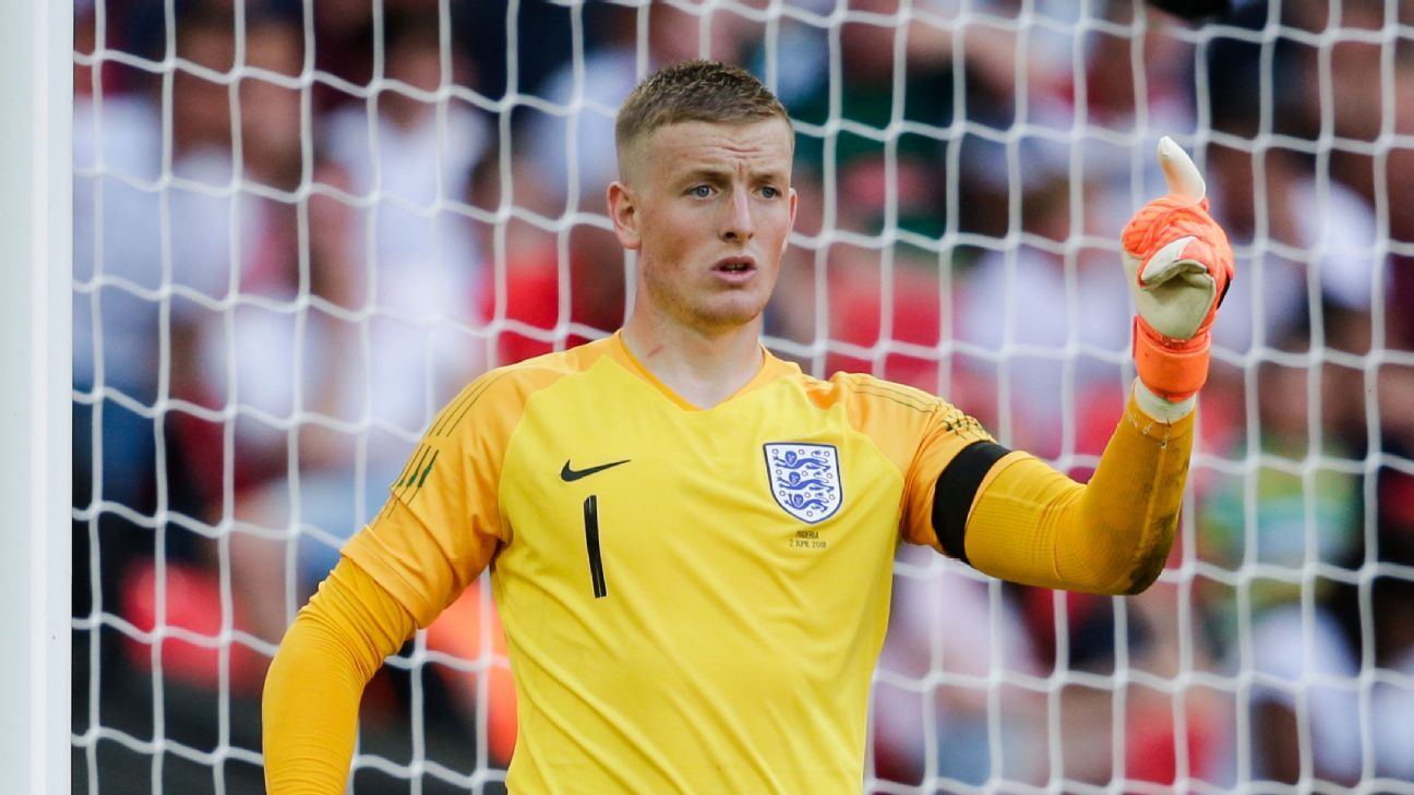 England S Jordan Pickford Tunisia Pose Real Challenge In