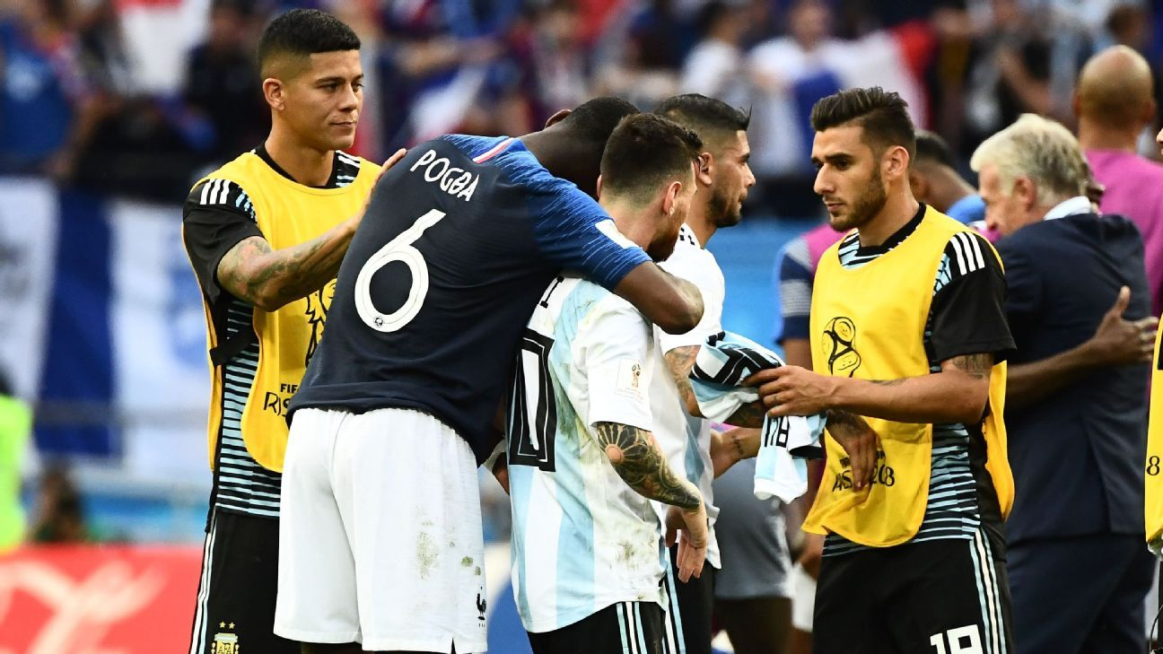 Paul Pogba Says Lionel Messi 'makes Me Love Football More