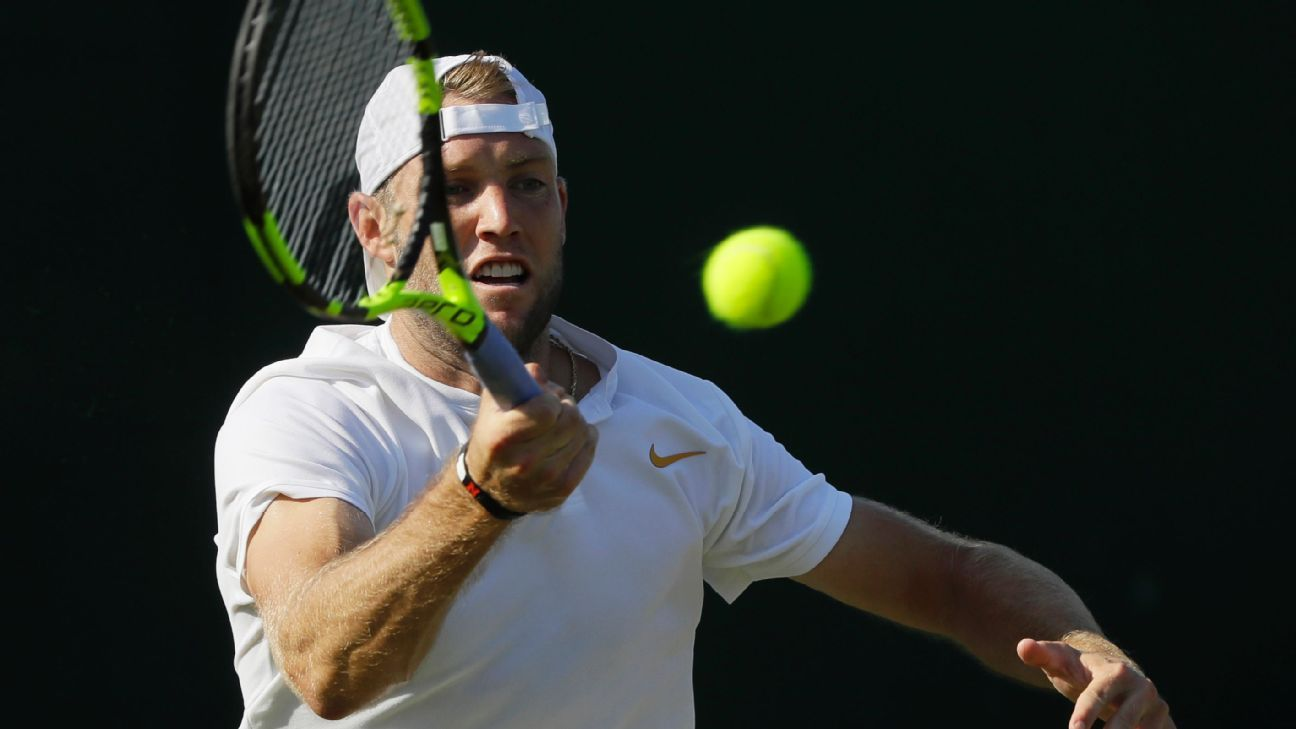 Sock rallies at Delray, wins first match of year