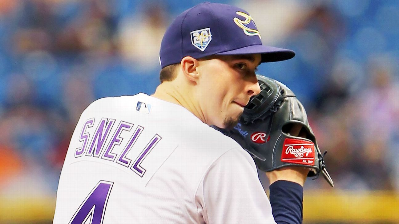 Sources: Rays bank on Snell with $50M deal