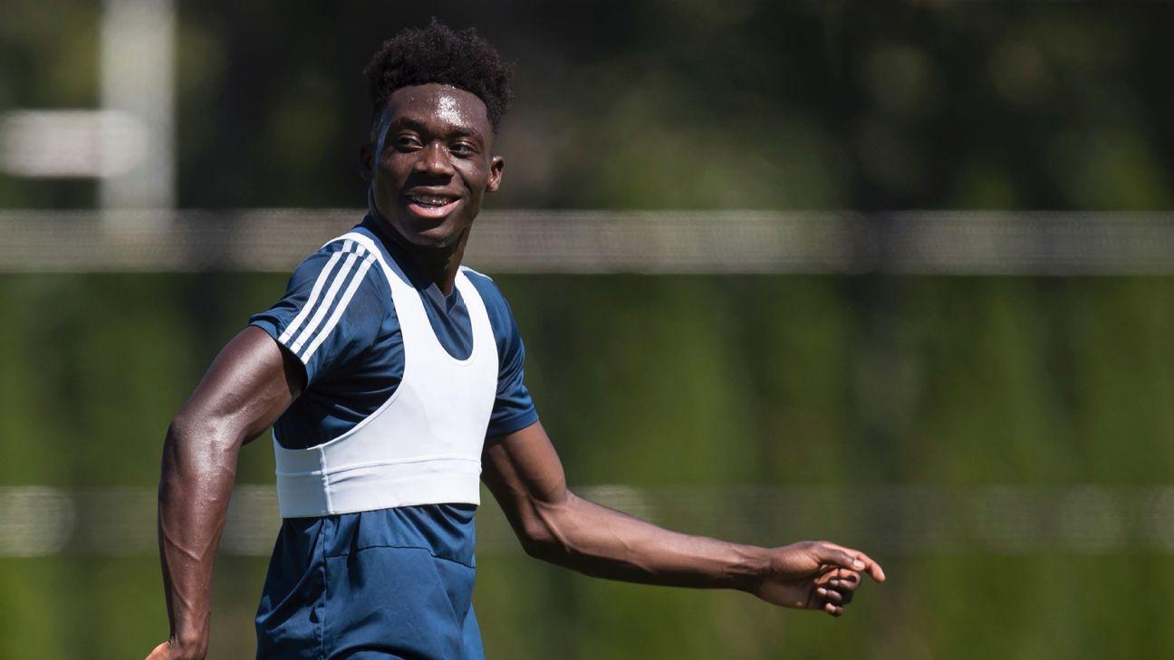 b21b4734f8c Bayern Munich sign Canadian teen Alphonso Davies in MLS-record deal