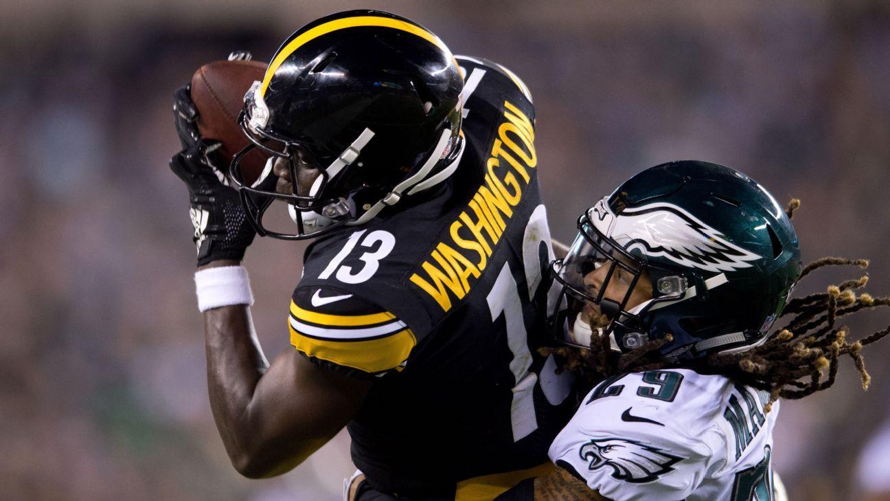 super popular bd7f4 224d4 Steelers' Terrell Edmunds, James Washington flash star ...