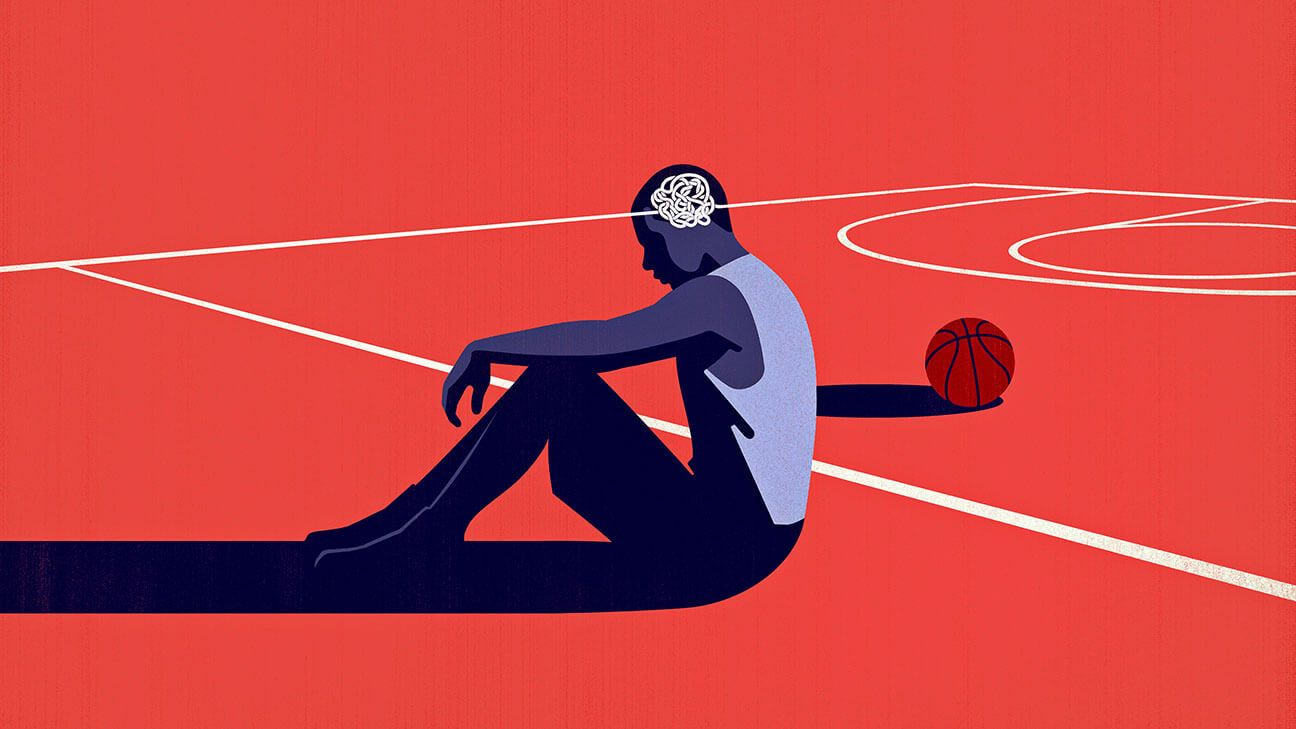 When making the NBA isn't a cure-all: Mental health and black athletes