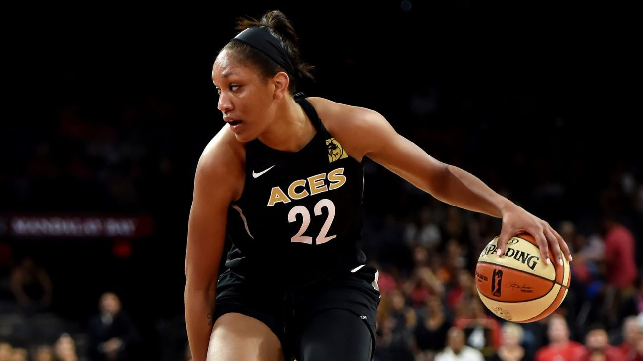 Las Vegas Aces' A'ja Wilson grows her game and brand in 2018
