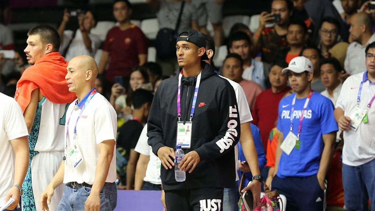 788397ae52d Jordan Clarkson dishes in first scrimmage with Philippines team