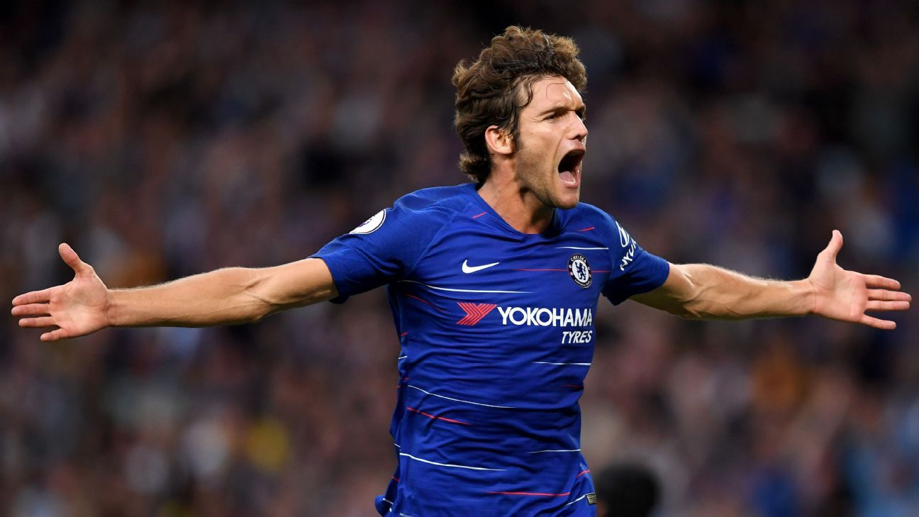 best sneakers a081e a42b4 Chelsea's Marcos Alonso expects to sign new contract