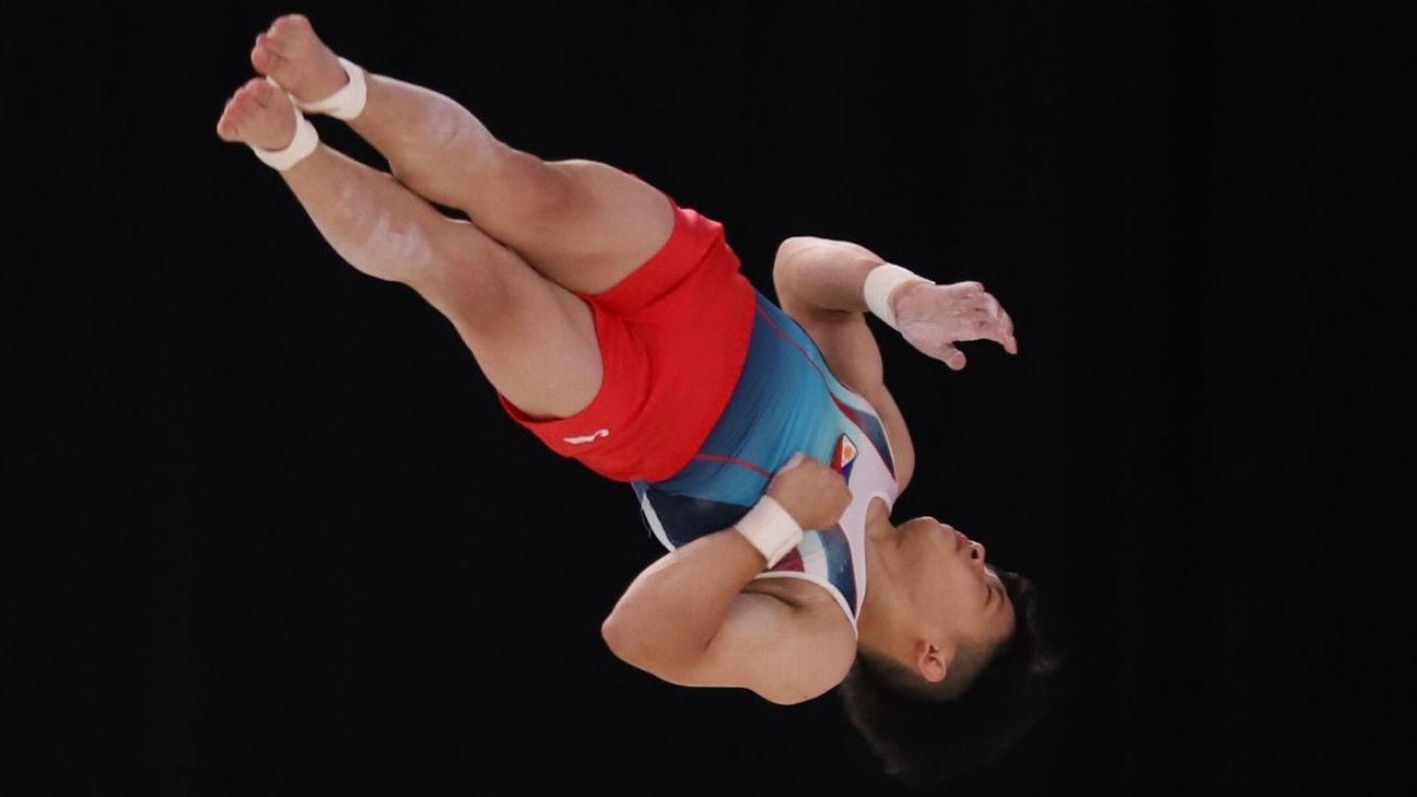 Tokyo-bound Filipino gymnast Carlos Yulo wins gold at world championships